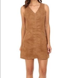 Jack by BB Dakota faux suede dress